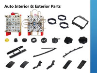 25 Injection Moulds for Automobile Interior and Exterior Parts