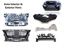 27 Injection Moulds for Automobile Interior and Exterior Parts