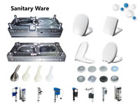 29 Injection Moulds for Sanitary Ware Parts