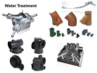 30 Injection Moulds for Water Treatment Pipe Parts