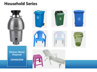 31 Injection Moulds for Household Series Chairs Trash Cans