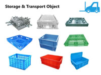 32 Injection Moulds for Storage Boxs and Transport Trays