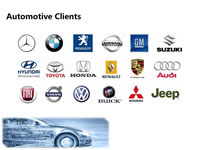 33 Clients in Automotive Industry for Injection Moulds
