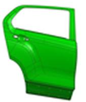 Rear Door Outer Plate