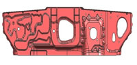 Front Rail Cover Mould