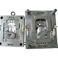 Electronics Mould Plastic USB Mouse Mold And Molding