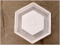 Hexagon Revetment Mould 01