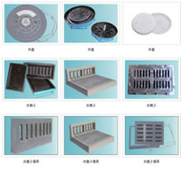 Well Perforated Strainer Plastic Mold 02