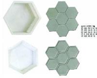 Hexagon Mould 10