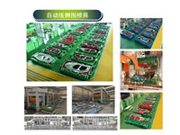 Side Wall Moulds Of C-Clss Cars Automation Line