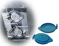 Auto Water Tank Inlet Pipe Cover Mould