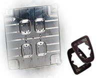 Square Pad For Automobile Water Tank Mould