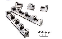 CNC Milling Vise In Row For Multi Jobs