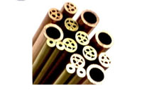 Small Hole EDM Tooling Brass Electrode Tube Multi Channel