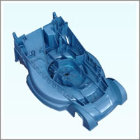 Lawn Machine Shell Mold