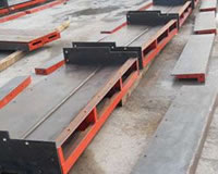 High Speed Railway Bollards Steel Mold