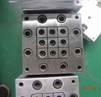 Perforated Pipe Series Mold 04