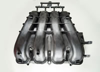Precision Mould Large Car Function Mold Pieces Intake Manifold 02