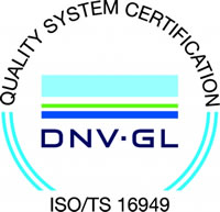 Automotive Certificate, ISO TS16949