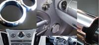 Automotive Decorative Solution, Auto Accessories, Chrome Plated Plastic