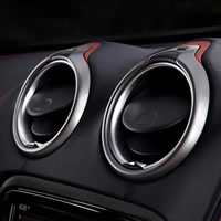 Automotive Decorative Solution, Class A, Decorative Parts, Instrument, Lenses Bezels, Acrylic Polycarbonate