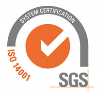 Power Components, Certificate ISO14001