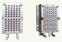 Food 1881 Folding Cap Molds, 72 Cavities, 2.35g, 5.5 Seconds, Annual 330 Millions PCS