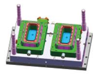 5L Napoli Tub Mould, PP, 99g, Mould Design Structure A