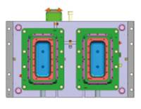5L Napoli Tub Mould, PP, 99g, Mould Design Structure B