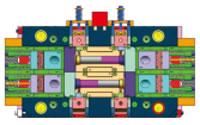 Blood Dialyzer Housing Mould, PC, 86g, Mould Design Structure D