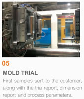 Packaging Mould Project Management, 05 Mold Trial