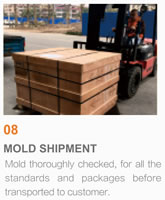 Packaging Mould Project Management, 08 Mold Shipment