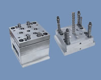 Plastic Injection Mold with Screw Demolding Organ