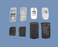 Samples, Injected Plastics Parts, Mobilephone Shells & Chargers