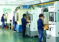 Mold Machining CNC Center Workshop