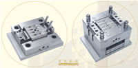 Plastic Earphone Fittings Injection Mould