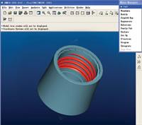 Plastics Moulds Design Development, Pro/Engineering Software, Injection Part