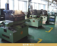Production Equipment, Fixed Assets, Wire Cutting Machine