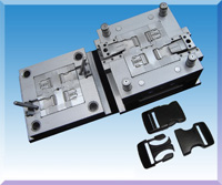 Injection Moulds For Plastic Buckles 01