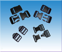 Plastic Buckles Samples From Injection Moulds