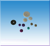 Plastic Precision Gears From Precision Injection Moulds